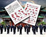 日前,300村民按手印要求释放河北泊头市富镇周官屯村法轮功修炼者王晓东的材料在中共高层传阅,并引起了高层震动。(合成图片/大纪元)