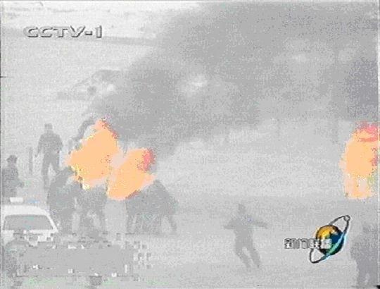 图22 中共宣传天安门自焚的另一张常用图片