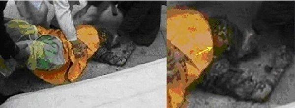图18 刘思影的耳根和脸颊下方,基本没化妆。