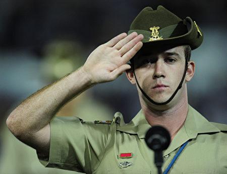 美国驻太平洋海军陆战队指挥官、中将博格,邀澳洲加入打击东南亚地区伊斯兰国(IS)恐怖组织的战斗。图为澳洲军人。(Ian Hitchcock/Getty Images)
