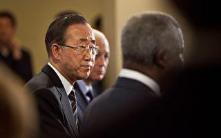 2012年6月7日,联合国安理会警告叙利亚可能发生血腥内战。 (Photo by Andrew Burton/Getty Images)