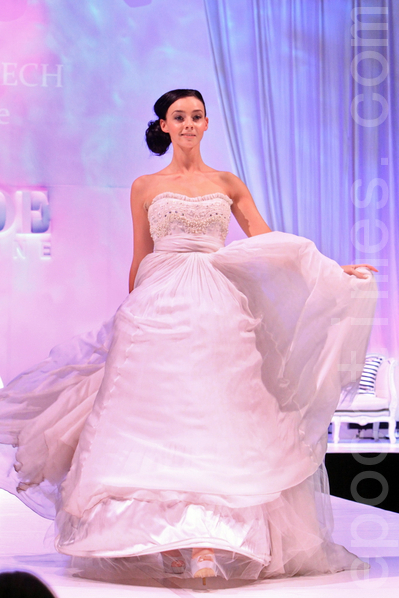 2012年6月16日墨尔本新娘婚礼博览会。(摄影:陈明/大纪元)