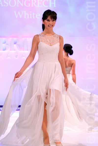 2012墨尔本婚礼展览会。(摄影:陈明/大纪元)