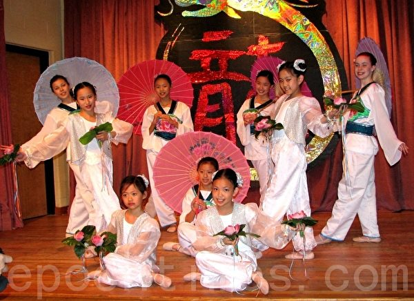 華美聯誼中心舞蹈隊將在中國節表演(攝影:良克霖/大紀元)