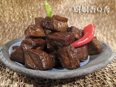 五香豆干成品(摄影: 新唐人电视台 提供)