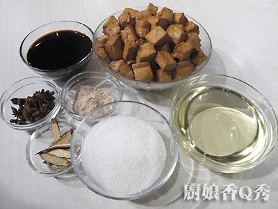 五香豆干材料(摄影: 新唐人电视台 提供)