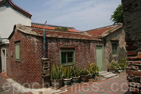 安平历史聚落的传统居屋(摄影:赖友容/大纪元)
