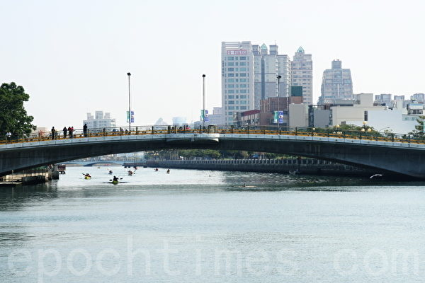 安平运河(摄影:赖友容/大纪元)