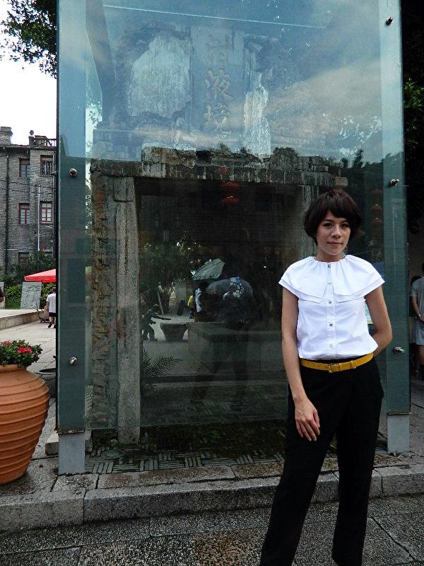 江美琪為了新專輯《房間》到內地宣傳。(圖/星娛提供)