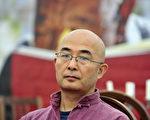 中国诗人廖亦武在德国。此图摄于2010年(JOHN MACDOUGALL/AFP/Getty Images)