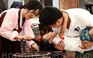 韩国端午节传统习俗