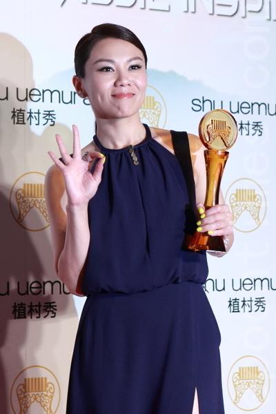 第23屆金曲獎最佳女歌手為蔡健雅(攝影:許基東/大紀元)