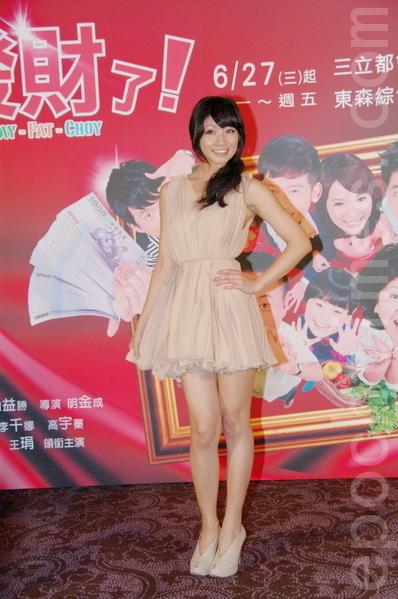 李千娜(摄影:黄宗茂/大纪元)