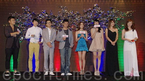 华剧《我们发财了》6月26日举行首映会。(摄影:黄宗茂/大纪元)