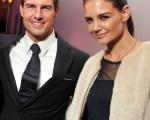 好莱坞巨星汤姆•克鲁斯和妻子凯蒂•霍尔姆斯(图/Stephen Lovekin/Getty Images)