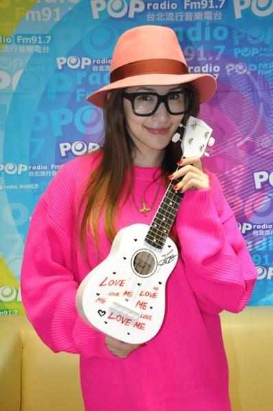 蕭亞軒(圖/POP Radio提供)