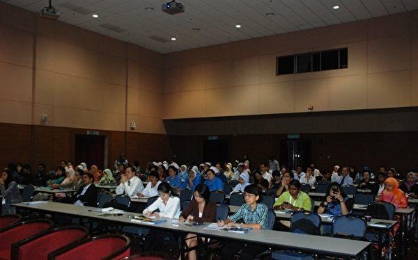 7月10日,在馬來西亞吉隆坡舉辦的「器官販運和交易的真相與風險」講座記者會。(攝影: 張建浩/大紀元)