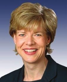 威斯康星州联邦众议员塔米.鲍德温(Tammy Baldwin)。(美国国会议员官方网站)