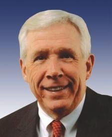 美国维吉尼亚州国会议员富兰克.沃夫(Frank Wolf)(美国国会议员官方网站)
