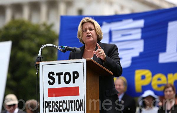 美國會眾議院外交委員會主席、佛羅里達州共和黨資深眾議員伊麗娜‧蘿斯‧萊赫蒂寧(Ileana Ros.Lehtinen)。(攝影:李莎/大紀元)