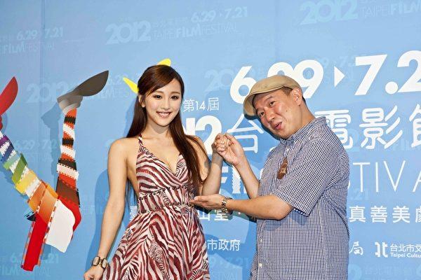 杜汶澤與演員陳靜力挺台北電影節。(圖/台北電影節提供)