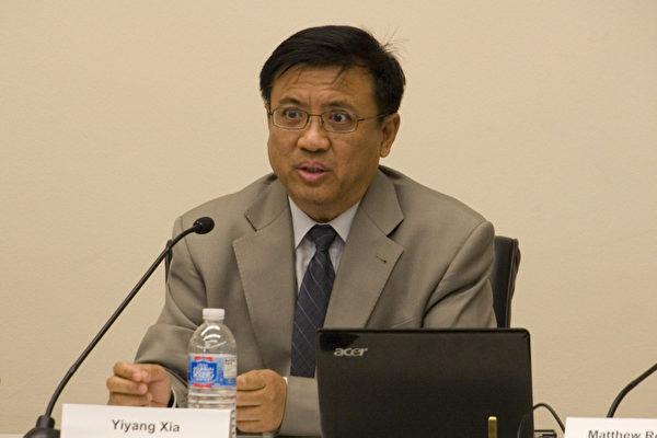 法律人权协会政策研究部主管、中国问题专家夏一阳。(摄影﹕李莎/大纪元)