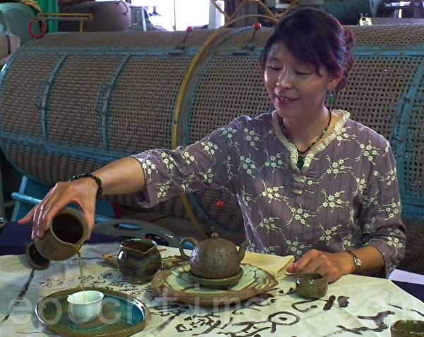 欢迎来品茶(摄影:温秀珍 /大纪元)