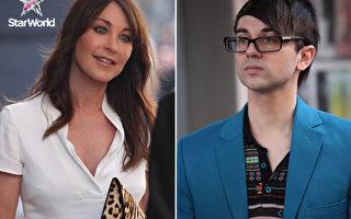 《珍愛時尚》Tamara Mellon(左)和設計師Christian Siriano快閃客串。(圖/福斯國際頻道提供)