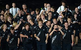 纽西兰队制服(OLIVIER MORIN / AFP)