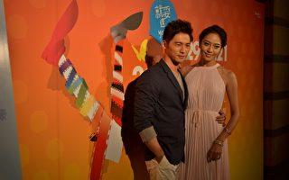 新片《候鳥來的季節》於台北電影節舉行電影世界首映,主演溫昇豪、白歆惠現身。(圖/威視提供)