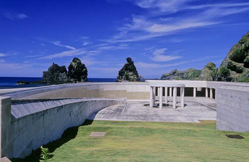 绿岛人权纪念公园。(摄影:饶瑞斌 /台湾观光局提供)