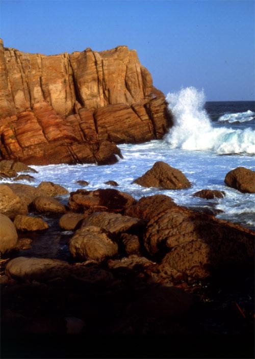 东北角龙洞海岸。(台湾观光局提供)
