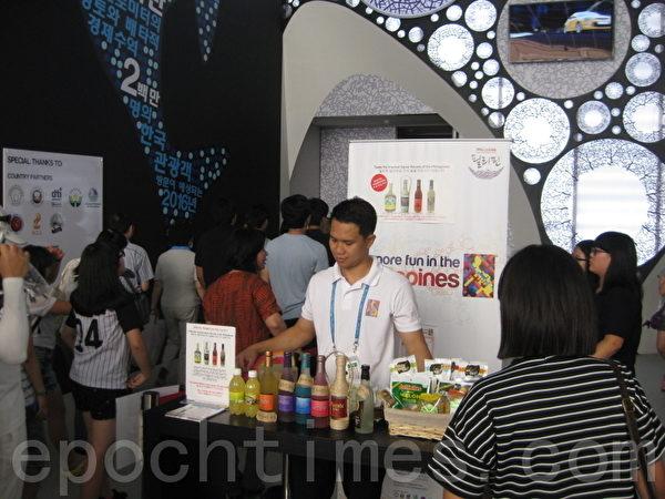 菲律賓展館(圖片來源:作者提供)