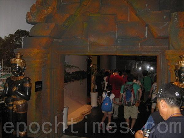 柬埔寨展館通道(圖片:作者提供)