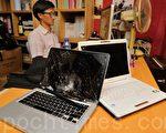 香港独立媒体办事处被砸 4蒙面大汉逃逸