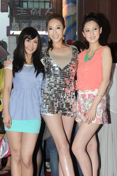 左起為:演員大元、隋棠、朱芯儀。(圖/凱特文化提供)