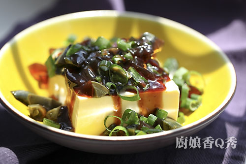 皮蛋豆腐(摄影: 新唐人电视台 提供)