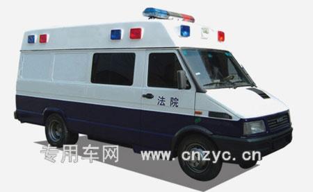 圖為中國的死刑執行車(網絡圖片)。