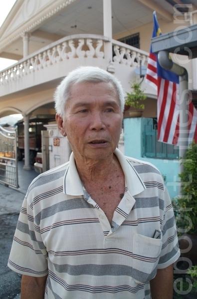叶先生的家人深受共产党迫害,所以在他一生当中绝对不会支持共产党。(摄影:杨晓慧/大纪元)