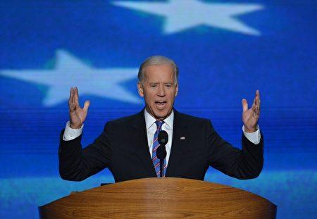 现任美国副总统拜登(Joe Biden)。(Stan HONDA/AFP)