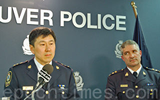 温警局警员Peter Hodson利用工作之便,贩卖毒品被抓,局长朱小荪对此非常气愤,将其开除出温警局。(大纪元资料)