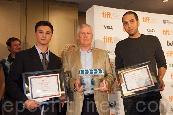 短片《Keep A Modest Head》则获得了最佳加拿大短片大奖。(摄影:Evan/大纪元)