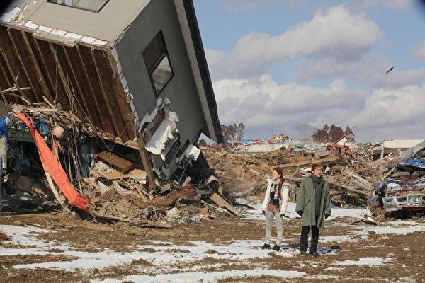 讲述日本大地震的《希望之国》电影剧照。(多伦多国际电影节提供)