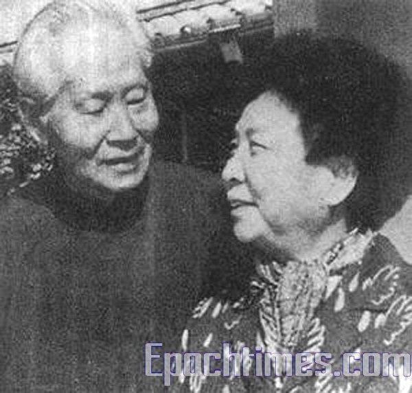 孙立人恢复自由后与夫人张晶英在台中寓所。(大纪元)
