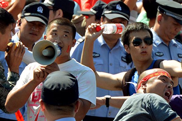 9‧18反日潮衝擊一百城市 外媒:中共玩兩面手法
