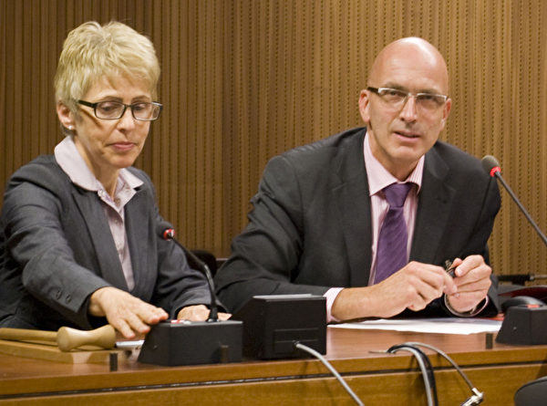 日内瓦国会议员Marc Falquet先生(摄影:董韵/大纪元)