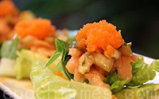 【舞动味蕾】鱼子烟熏鲑鱼沙拉