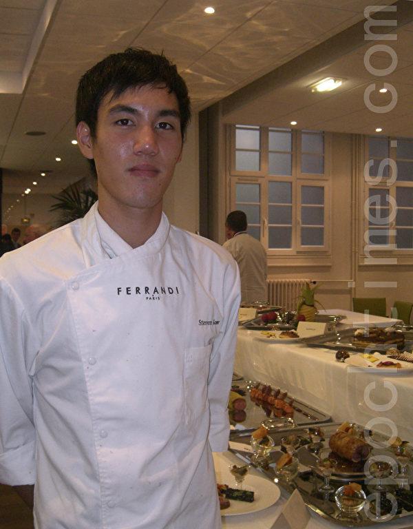 Som Steven從小就熱愛烹飪(大紀元圖片)
