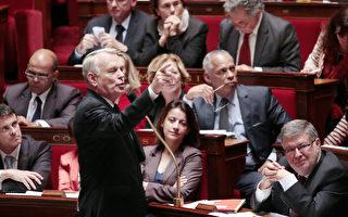 图:法国总理让-马克•艾罗10月24日在国会上讲话(JACQUES DEMARTHON/AFP/Getty Images)
