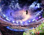近日公布的一项全球软实力排行榜,英国首次击败美国,成为冠军。图为英国2012年奥运会开幕式。(Ryan Pierse/Getty Images)